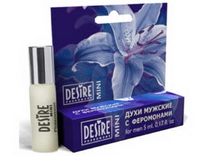 Духи мужские Desire Pheromone с феромонами, 5 мл, mini-blister, №1