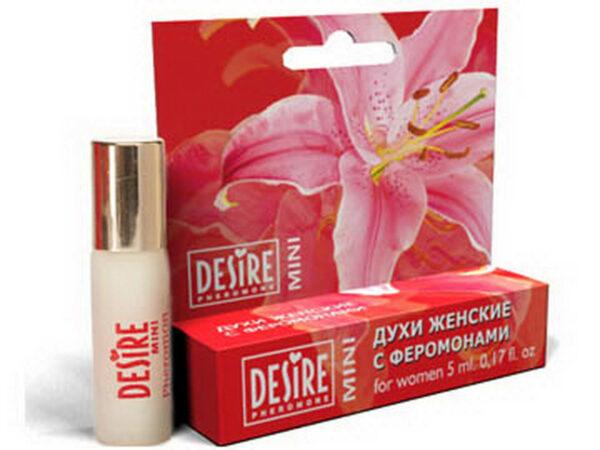 Духи женские Desire Pheromone с феромонами, 5 мл, mini-blister, №3