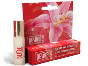 Духи женские Desire Pheromone с феромонами, 5 мл, mini-blister, №9